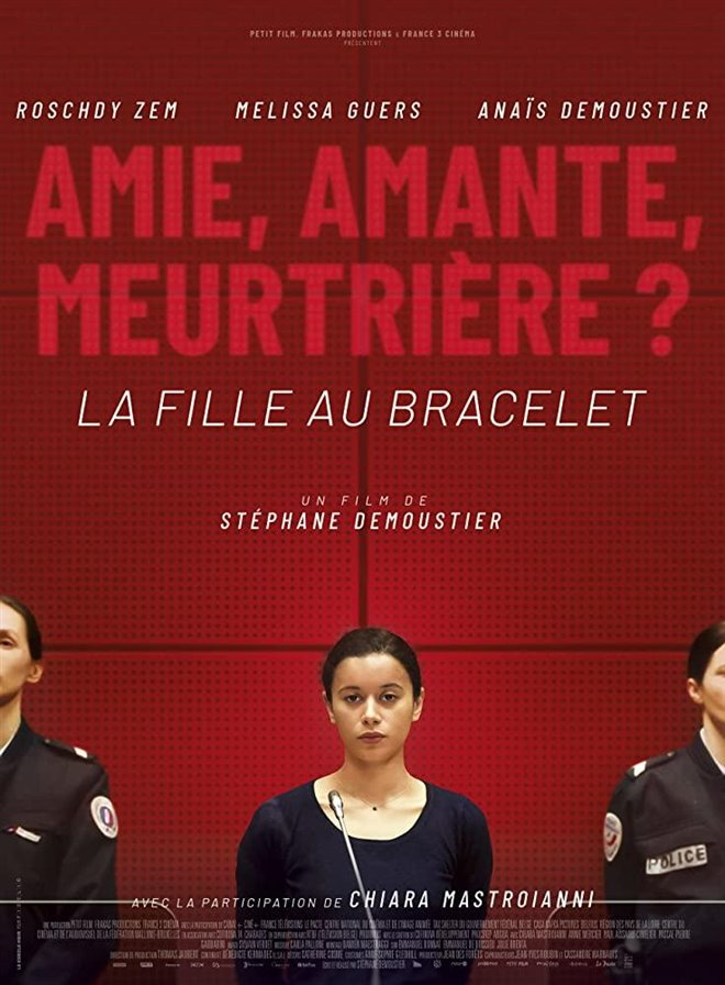 La fille au bracelet Large Poster