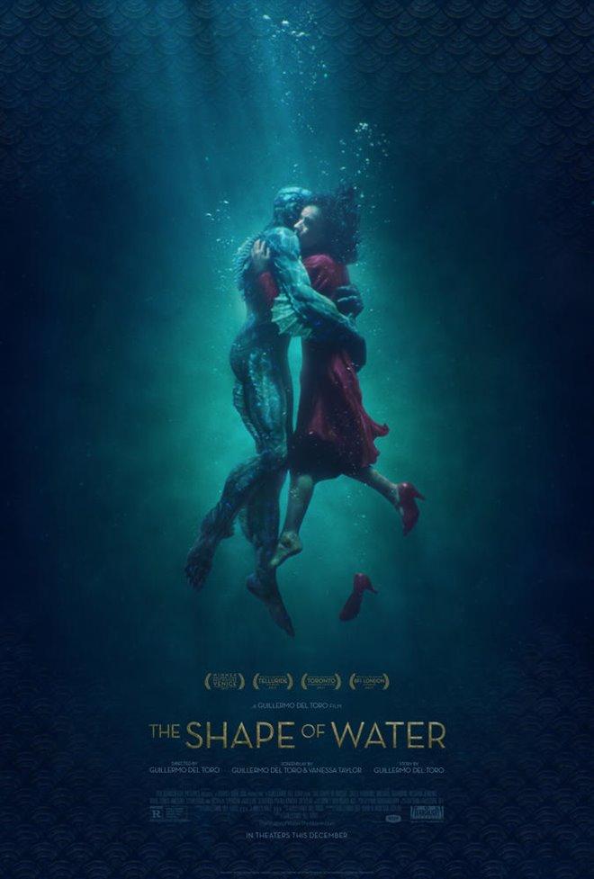 La forme de l'eau Large Poster
