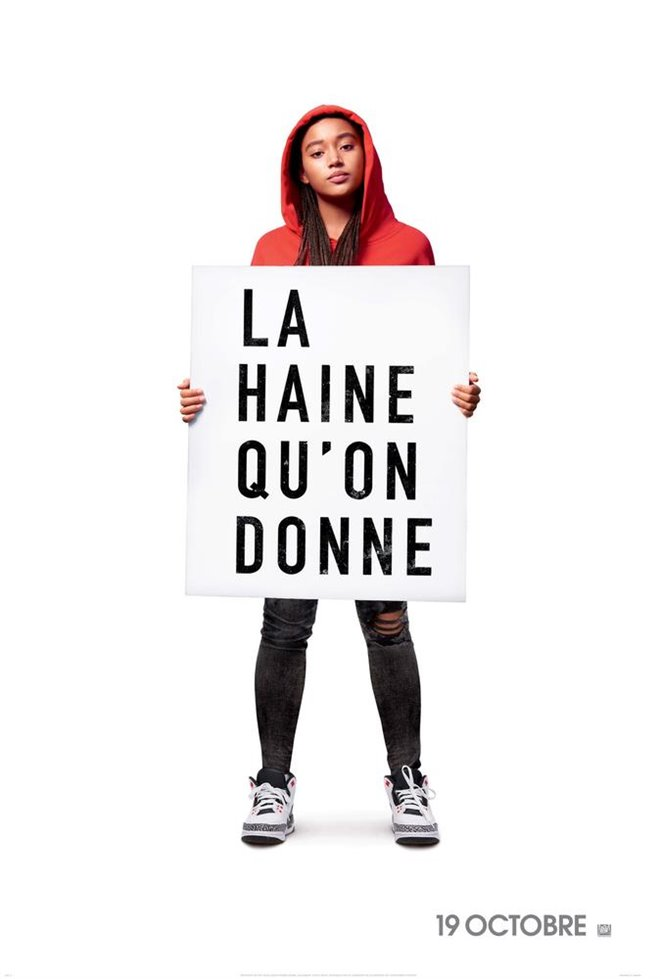La haine qu'on donne Large Poster