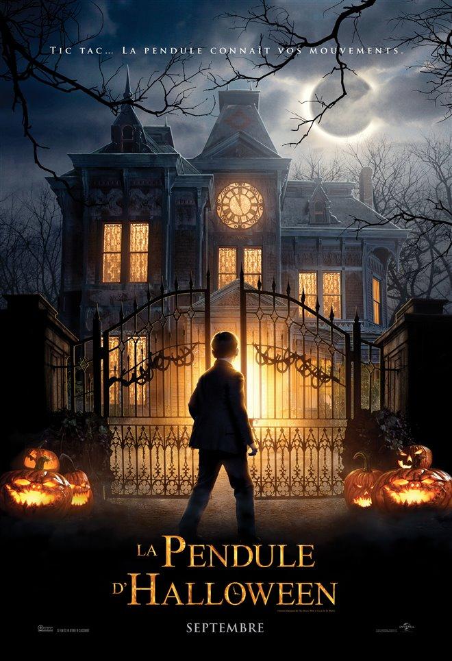 La pendule d'Halloween Large Poster