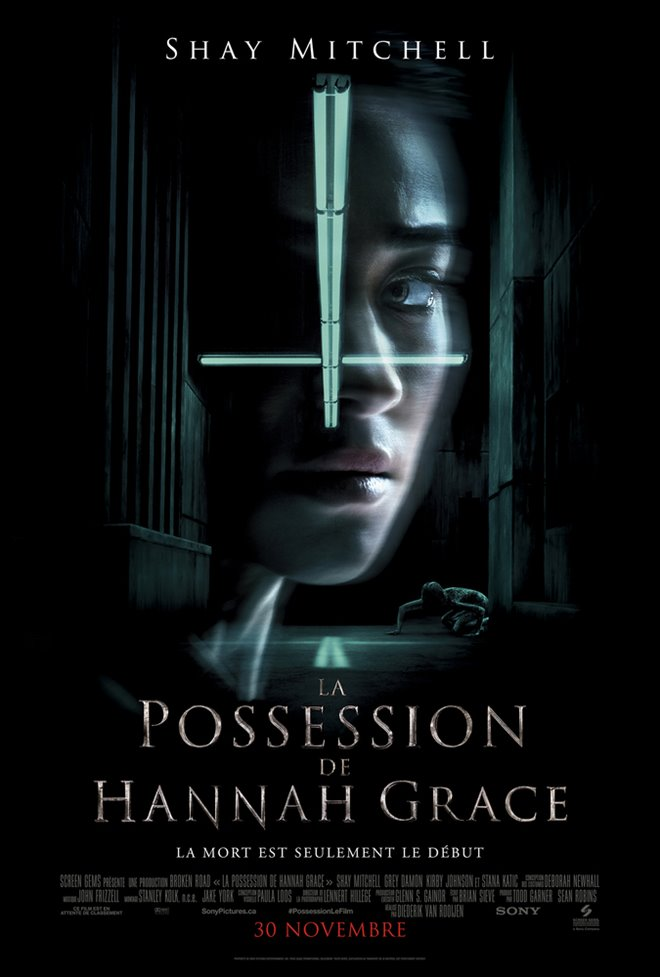 La possession de Hannah Grace Large Poster