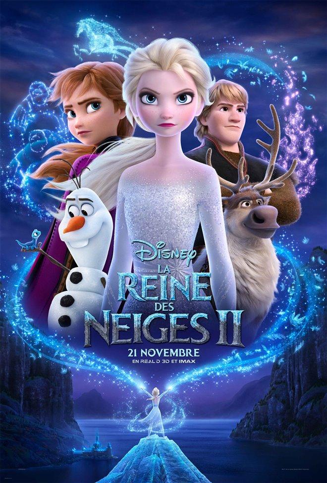 La reine des neiges 2 Large Poster