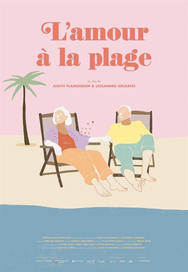 L'amour à la plage Large Poster