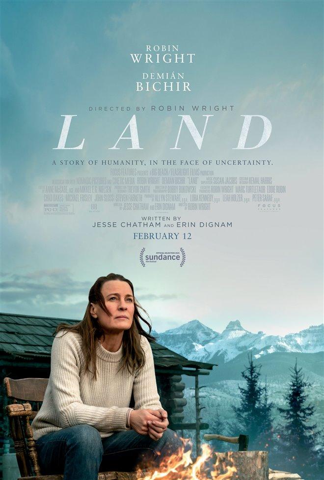 Land Large Poster
