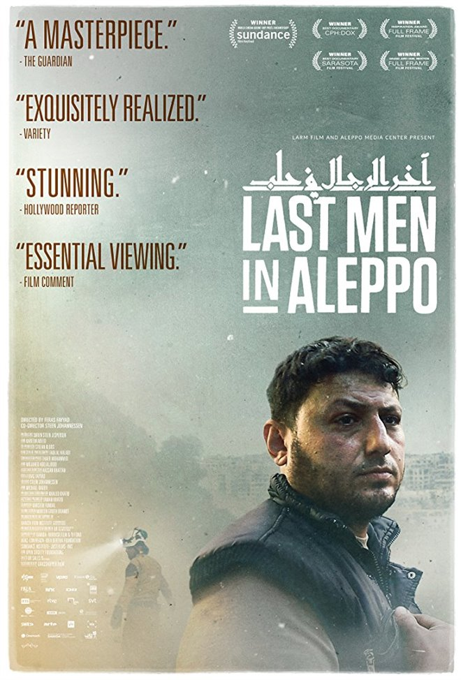 Last Men in Aleppo Large Poster