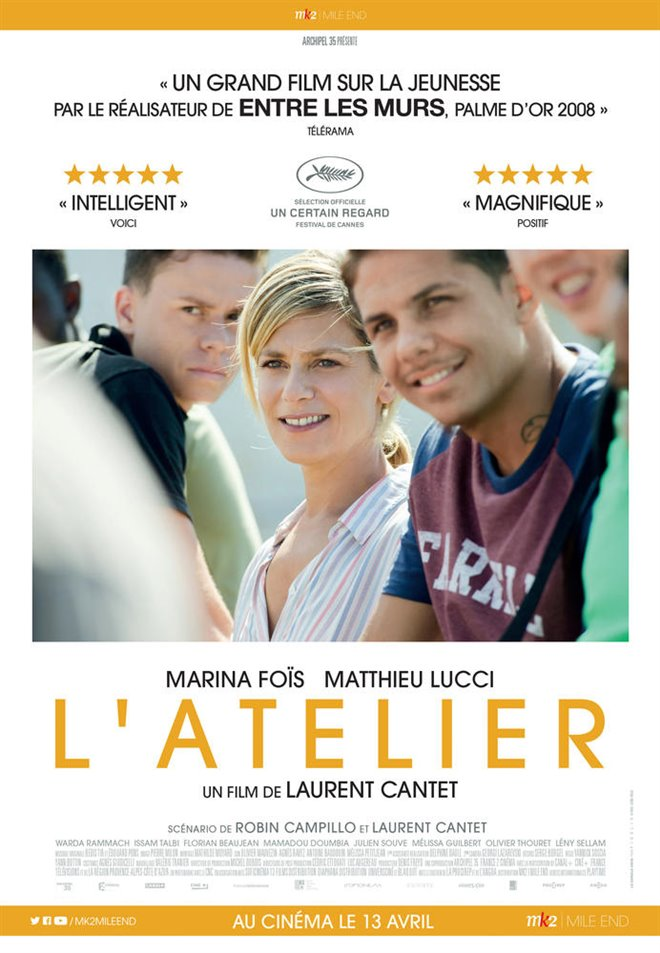 L'atelier Large Poster