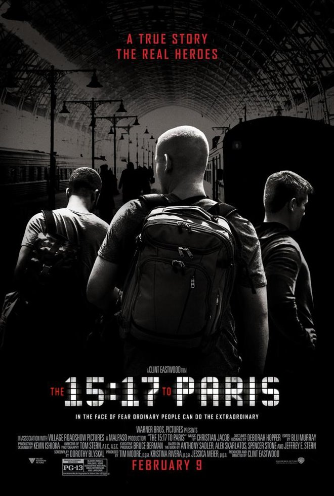 Le 15:17 pour Paris Large Poster