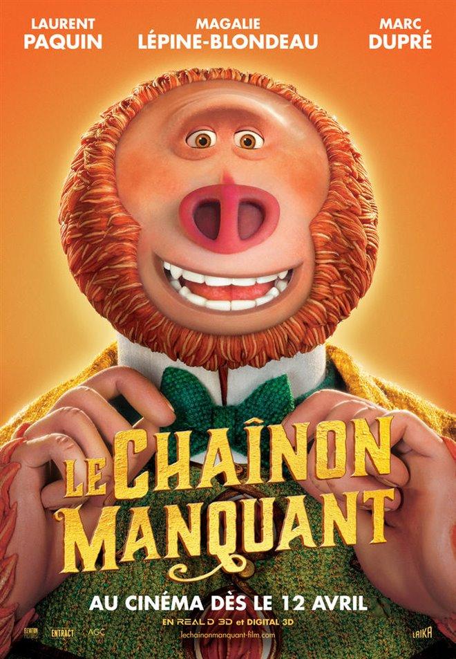 Le Chaînon Manquant 3D Large Poster
