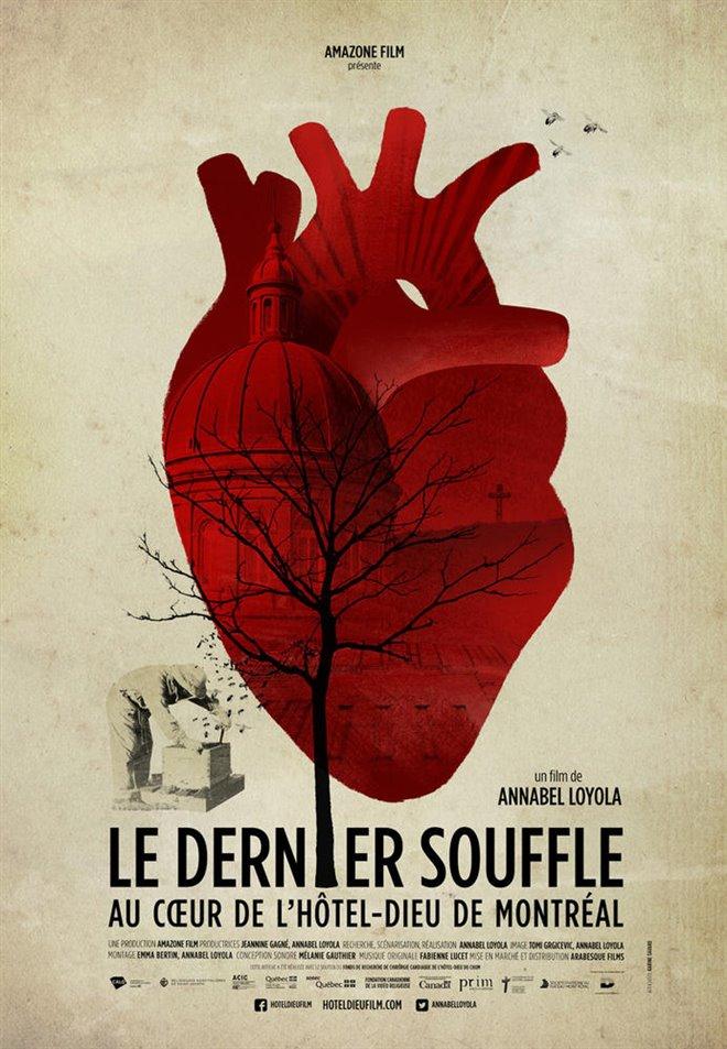 Le dernier soufflé : Au coeur de l'hôtel-Dieu de Montréal Large Poster
