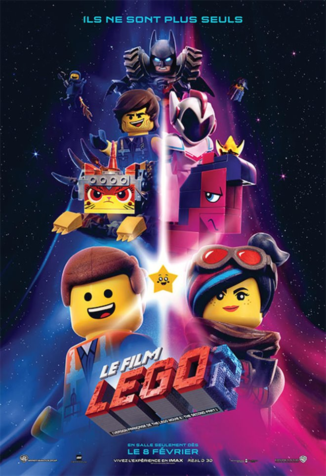 Le film LEGO 2 Large Poster