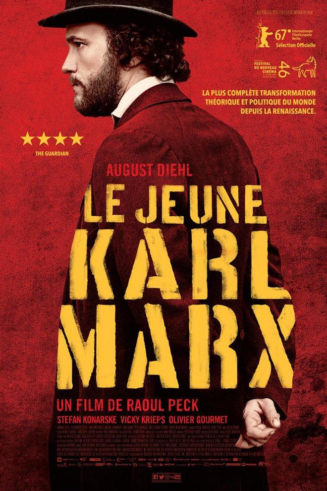 Le jeune Karl Marx (v.o.s.-t.f.) Large Poster