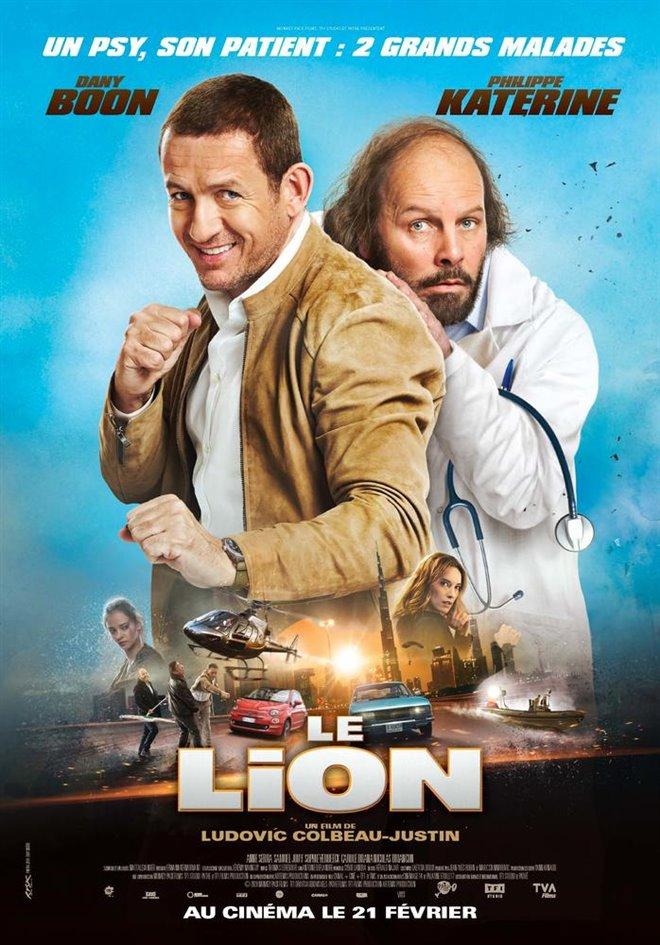 Le lion Large Poster