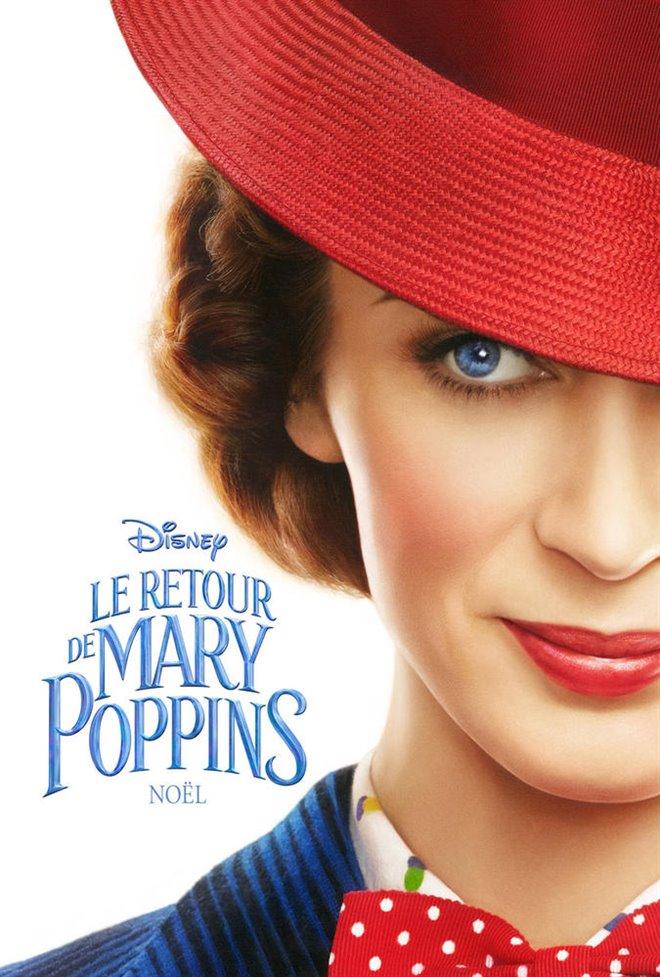 Le retour de Mary Poppins Large Poster