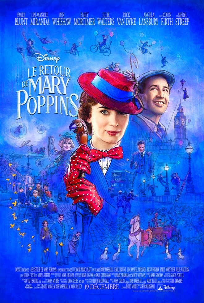 Le retour de Mary Poppins Large Poster