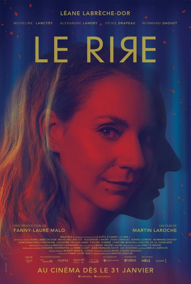 Le rire (v.o.f.) Large Poster