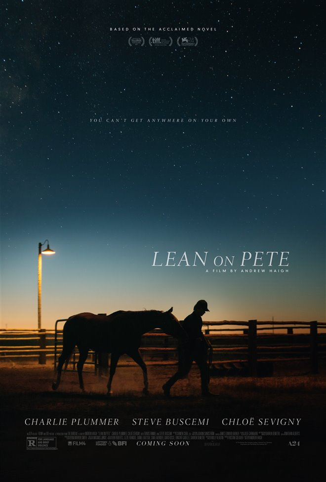 Lean on Pete Large Poster