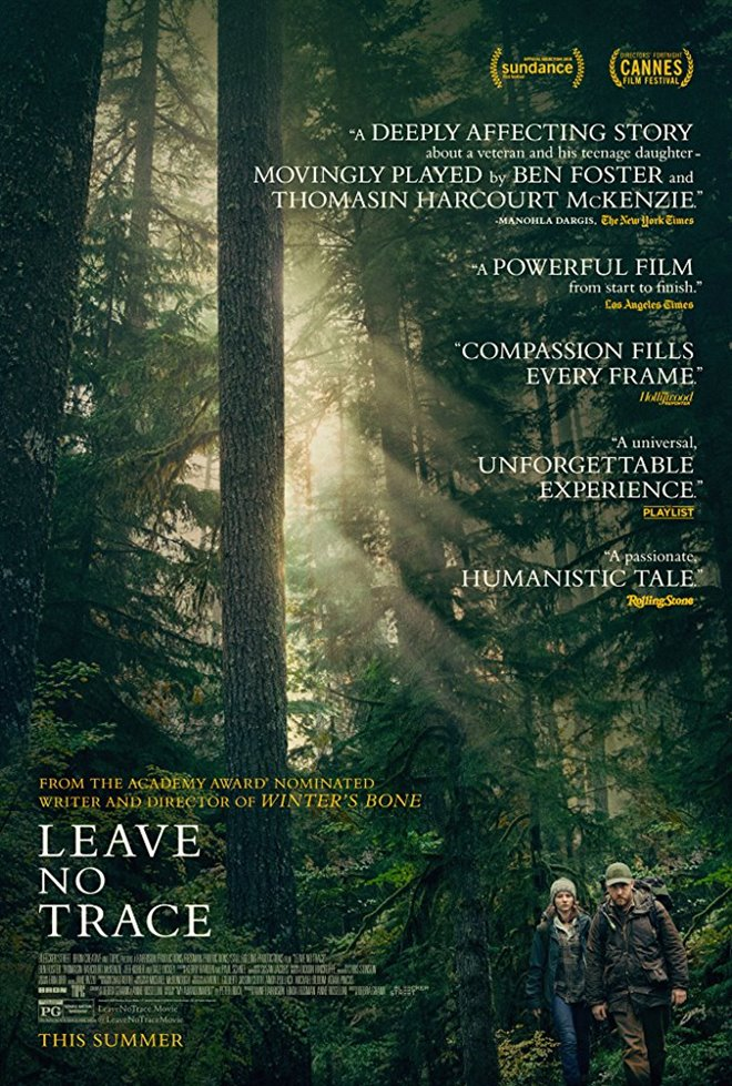Leave No Trace Large Poster
