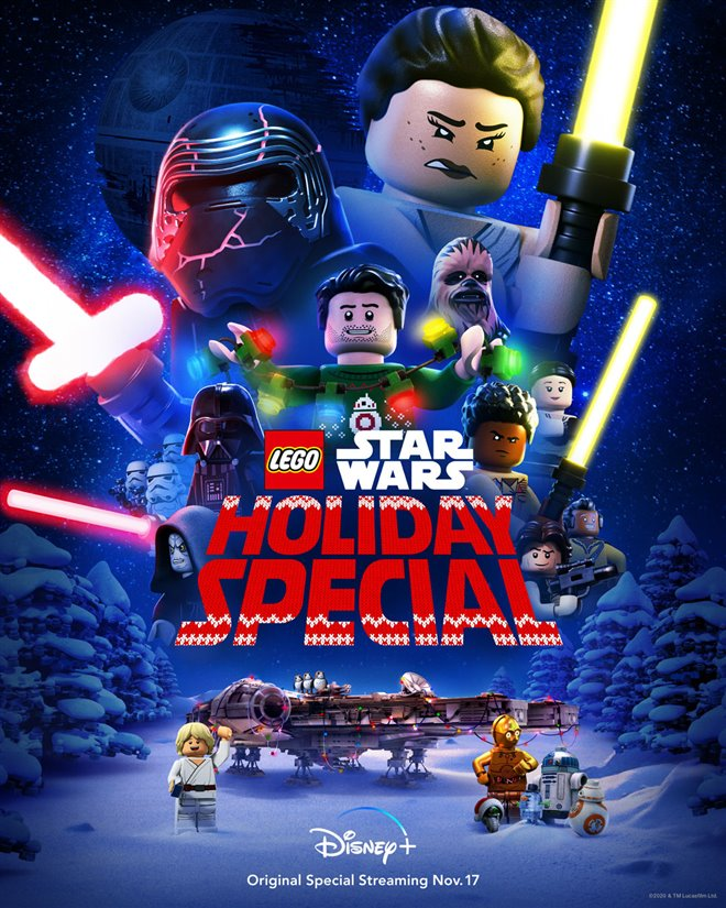 LEGO Star Wars Holiday Special (Disney+) Large Poster