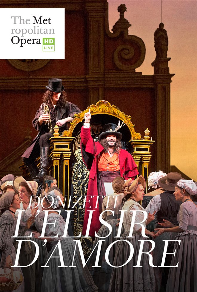 L'Elisir d'Amore - Metropolitan Opera Large Poster