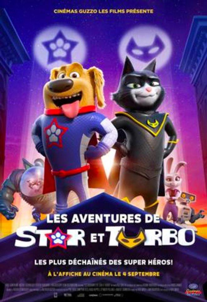 Les aventures de Star et Turbo Large Poster