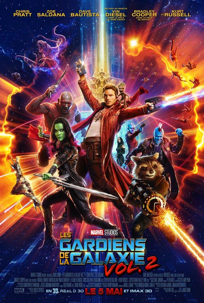 Les gardiens de la galaxie vol. 2 Large Poster