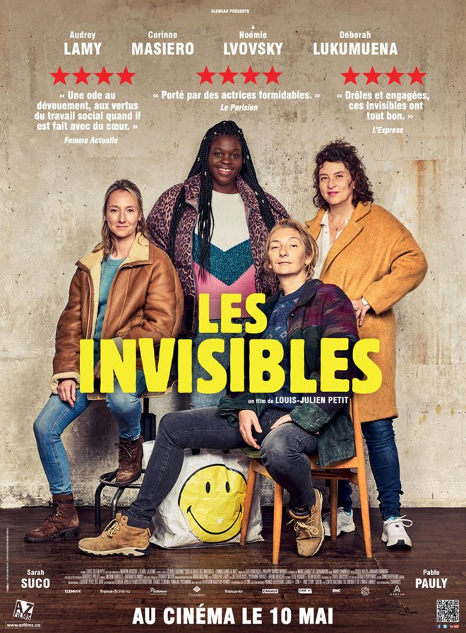 Les invisibles Large Poster