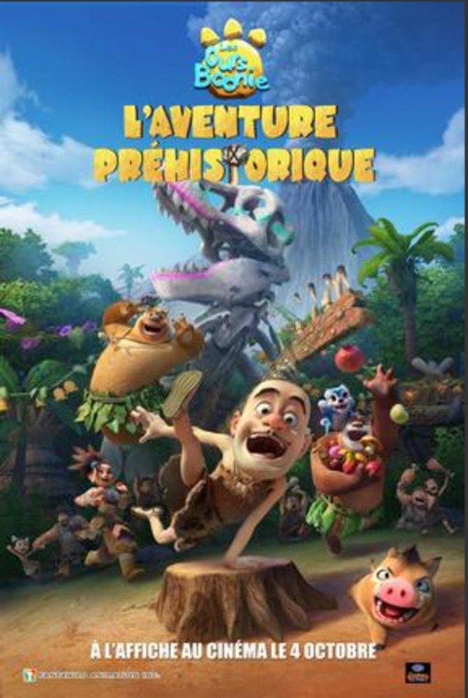 Les ours Boonie : L'aventure préhistorique Large Poster