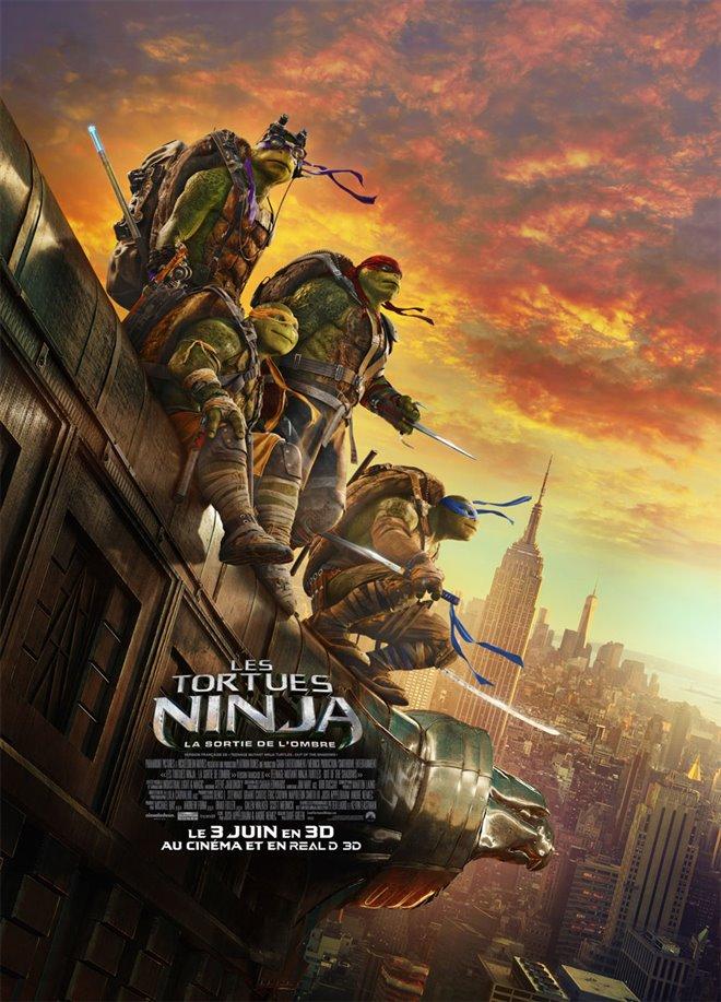 Les tortues ninja : La sortie de l'ombre Large Poster