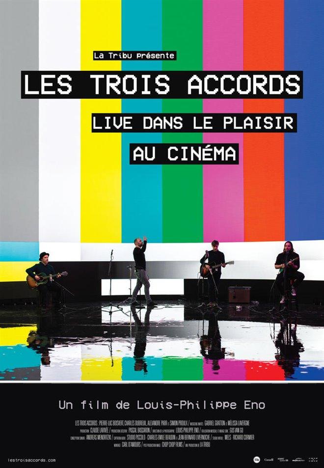 Les Trois Accords : Live dans le plaisir (v.o.f.) Large Poster