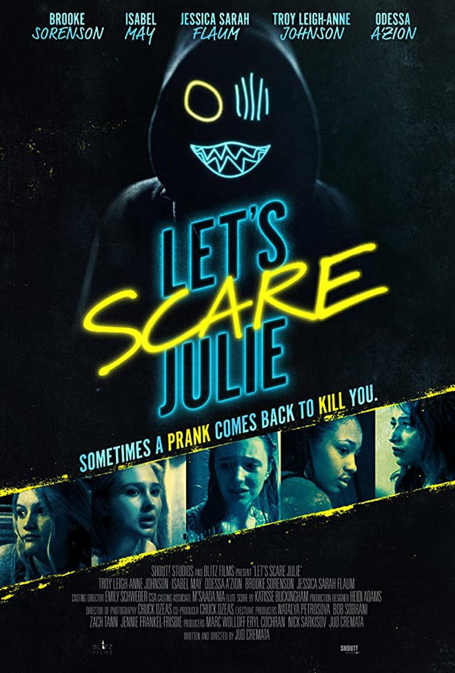 Let's Scare Julie Large Poster