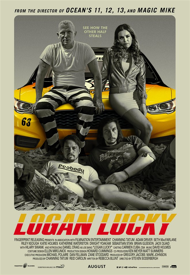 Logan Lucky Large Poster