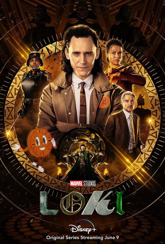 Loki (Disney+) Large Poster