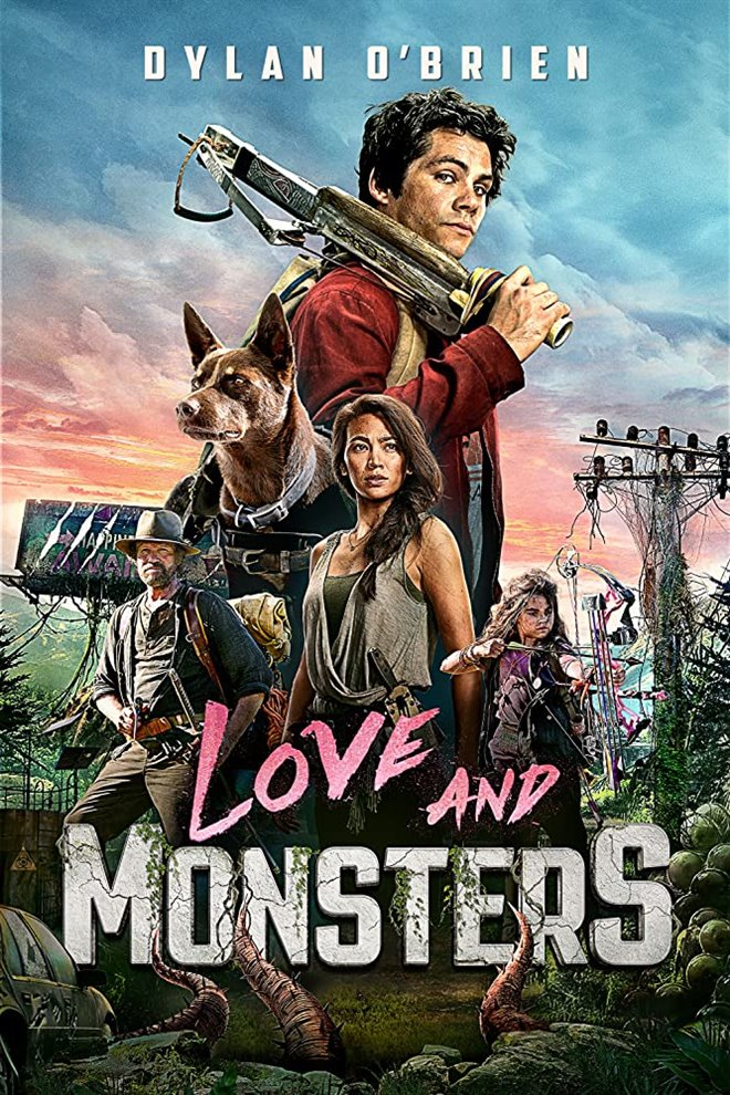 Love and Monsters Large Poster