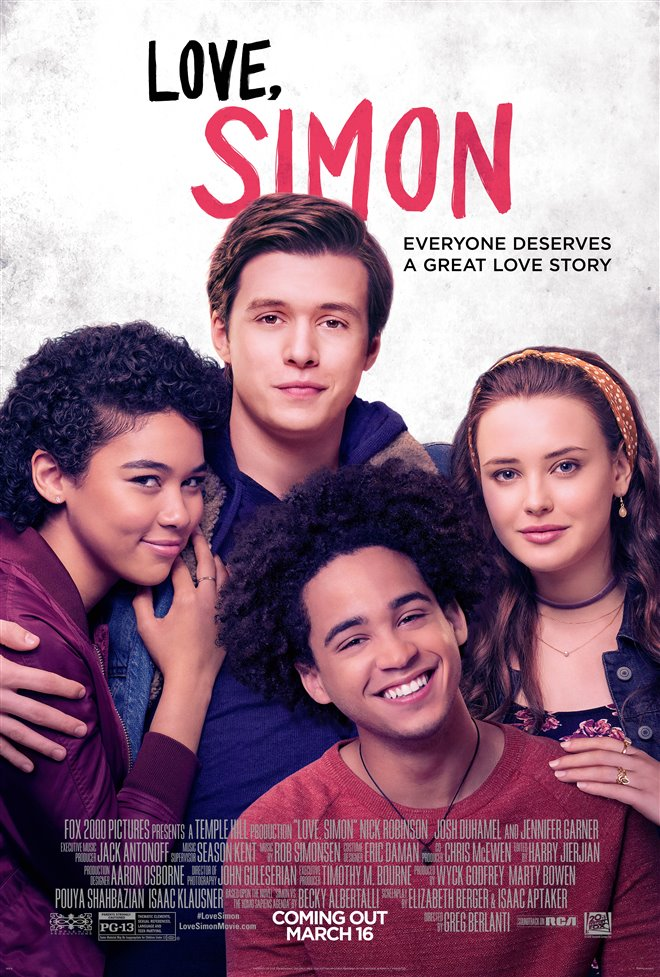 Love, Simon Large Poster