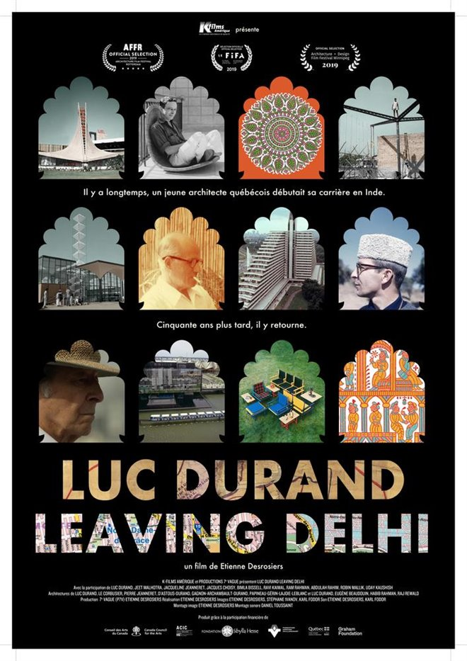 Luc Durand Leaving Delhi (v.o.a.s-t.f.) Large Poster
