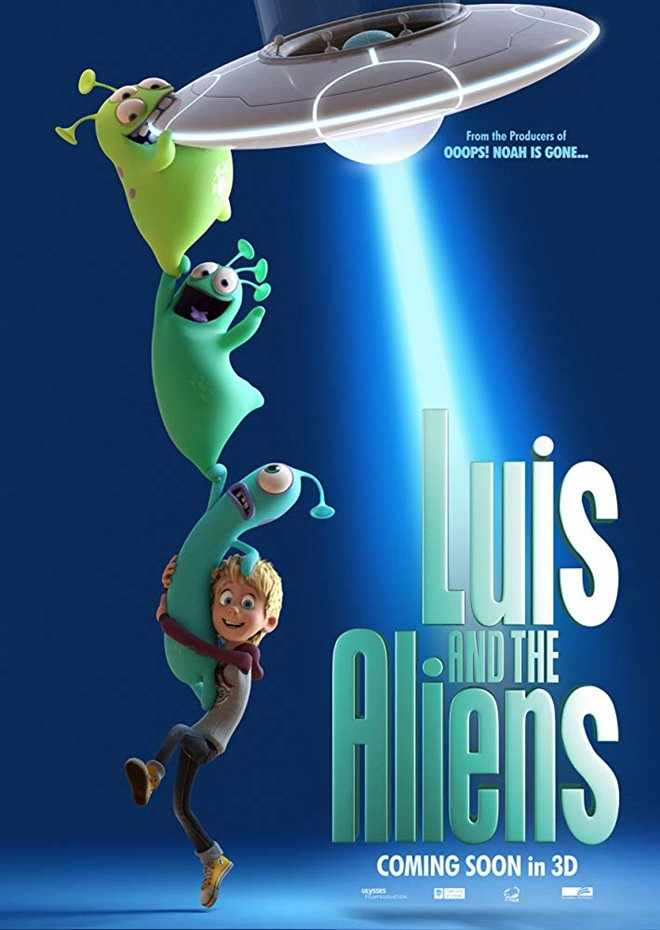 Luis and the Aliens Large Poster