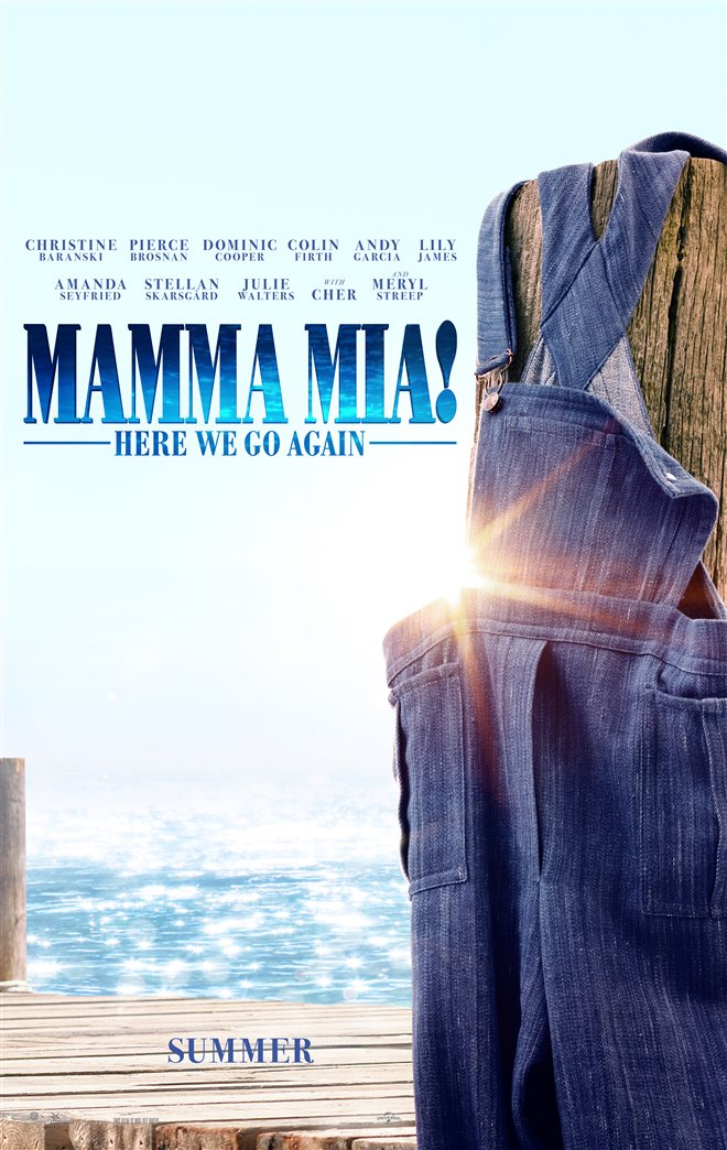 Mamma Mia! Here We Go Again Large Poster