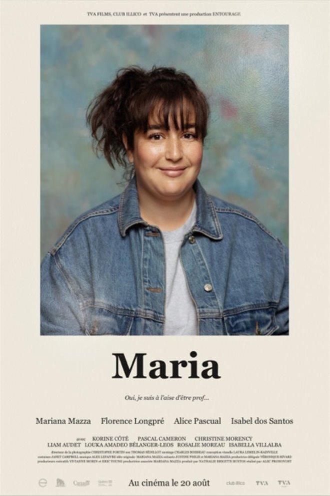 Maria Large Poster