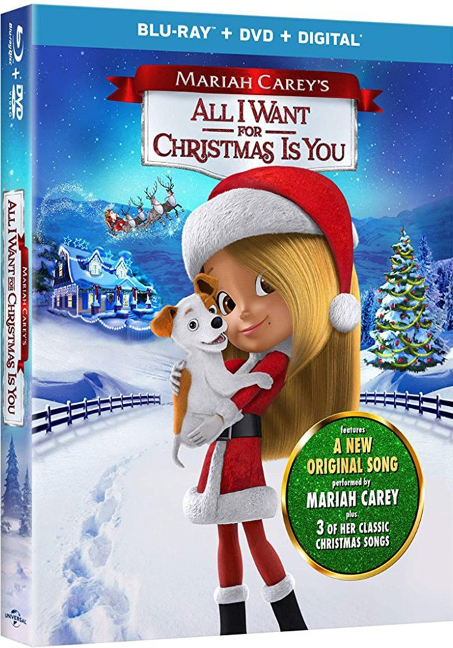 Mariah Carey's All I Want for Christmas Is You Large Poster
