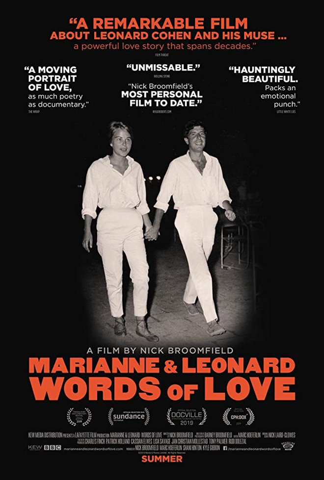 Marianne & Leonard: Words of Love Large Poster