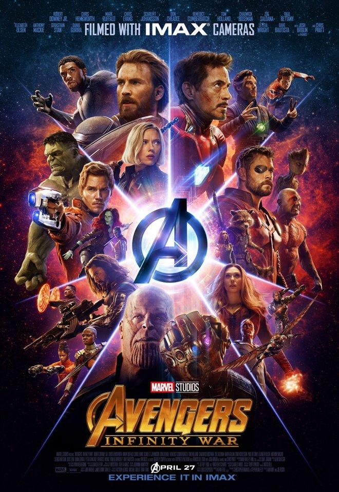 Marvel Studios 10: Avengers: Infinity War (IMAX) Large Poster