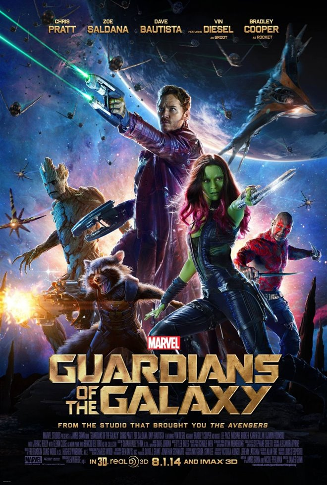 Marvel Studios 10th: Guardians of the Galaxy (IMAX 3D) Large Poster