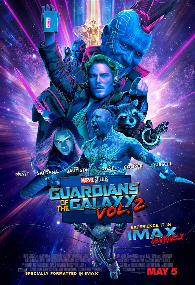 Marvel Studios 10th: Guardians of the Galaxy: Vol. 2 (IMAX 3D) Large Poster