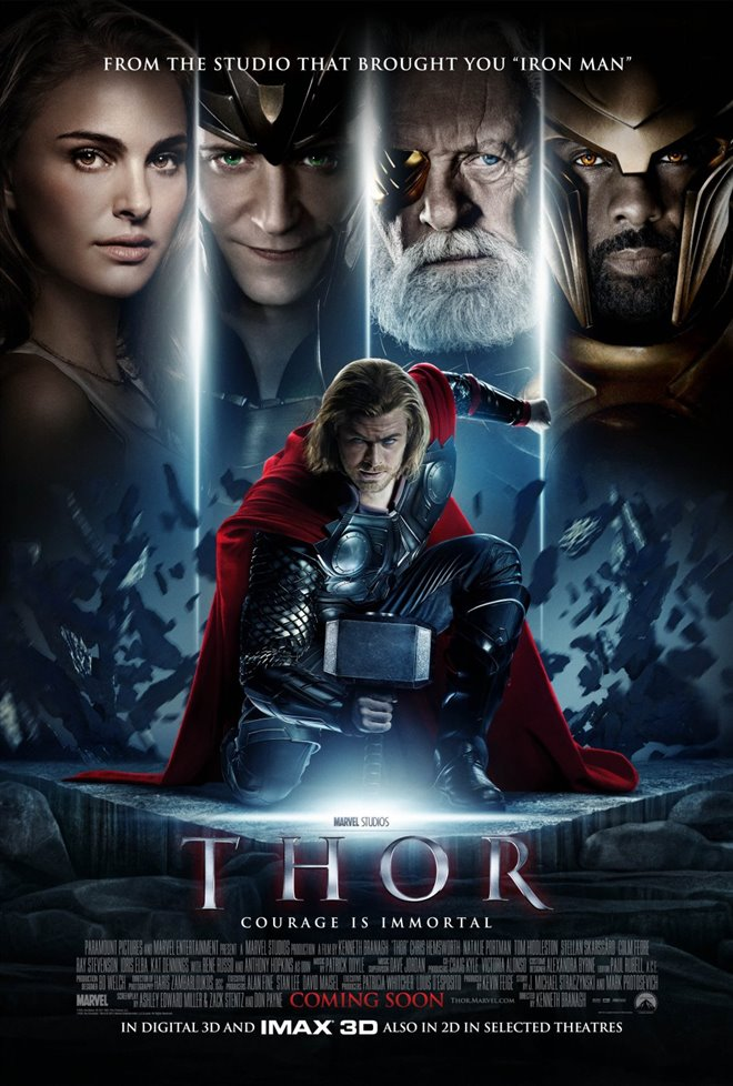 Marvel Studios 10th: Thor (IMAX 3D) Large Poster