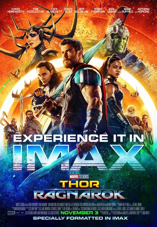 Marvel Studios 10th: Thor: Ragnarok (IMAX) Large Poster