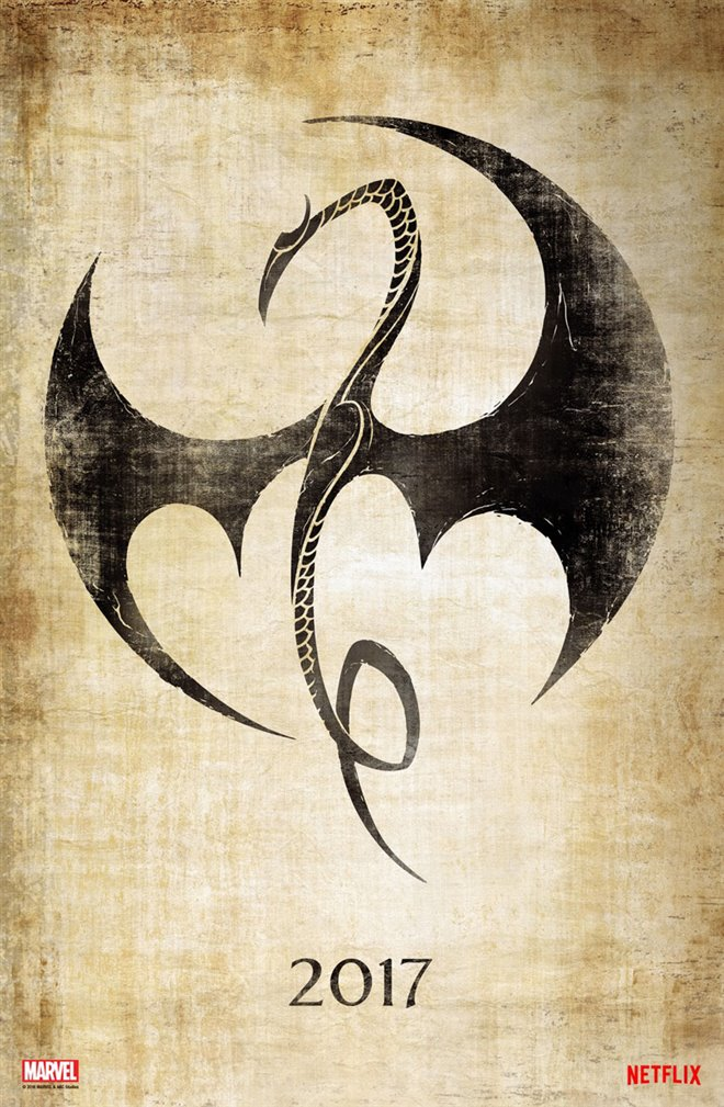 Marvel's Iron Fist (Netflix) Large Poster