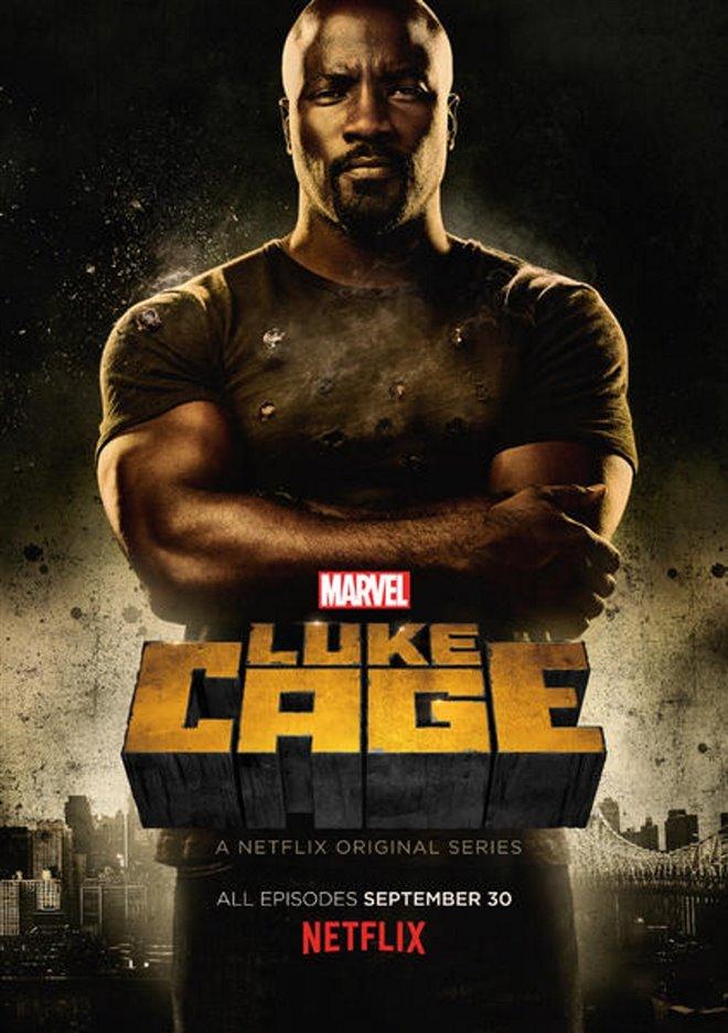 Marvel's Luke Cage (Netflix) Large Poster