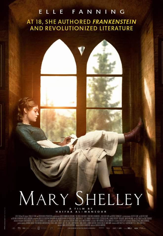 Mary Shelley (v.o.a.) Large Poster