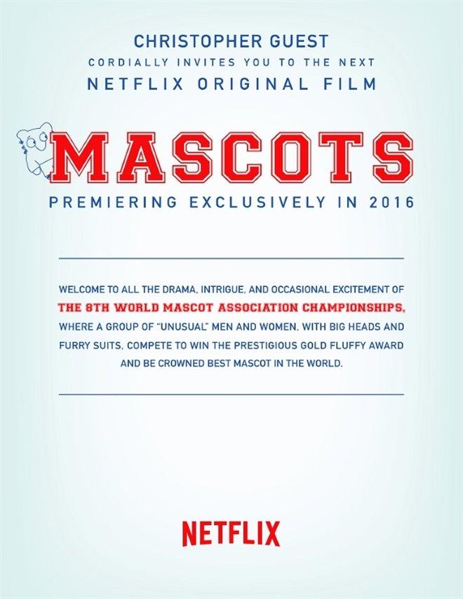 Mascots (Netflix) Large Poster
