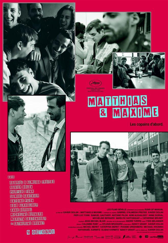 Matthias & Maxime (v.o.f.) Large Poster
